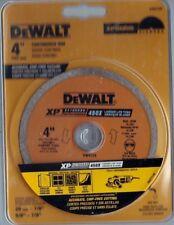 Dewalt Dw4729 Xp 4-in Diamond Arbor-Grit Grinding Wheel *Factory Packaging