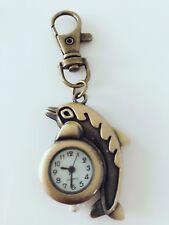 Girl Boy Lady Dolphin sea animal Key Ring Keyrings Holder Pocket Watch Strap