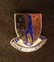 US Army Reserve School DI DUI Crest Clutch Back Original VG+