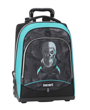 Fortnite Skull Trooper Zaino Trolley -Nero/Blu