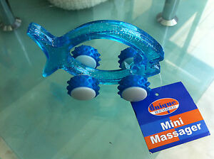 MINI MASSAGER - FISH SHAPED - VERY SOLID - SMALL - EASY TO USE & A BARGAIN TOO