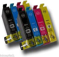 8x Cartuchos de inyección tinta compatible con IMPRESORA CANON