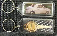 Nissan Figaro Keyring Birthday Gift. Figaro Lover Present, WILL POST WORLDWIDE