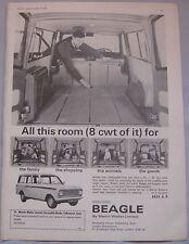 1966 Bedford Beagle Original advert