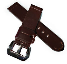 24mm Handmade Leather Watch Strap , Radiomir , vintage , AMMO