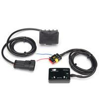 Car Mini Blue LED Digital Display Turbo Boost Pressure Gauge Diesel Petrol PSI