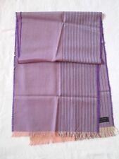 ÉCHARPE foulard CACHEMIRE by Lanificio di Pray soie scarf - 170 cm x 38 cm /
