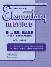 Rubank Elementary Method : Eb or BBb Bass (1989, Paperback) Band Method Book