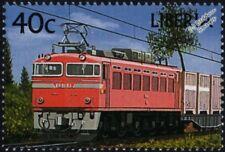 Ferrocarriles Japoneses (JNR) clase EF81 Sello De Tren Locomotora Eléctrica