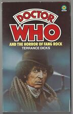 Doctor Who..Horror of Fang Rock by Terrance Dicks (1978, Target) pb 1st print