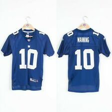 BOYS YOUTHS NEW YORK GIANTS NFL JERSEY FOOTBALL SHIRT MANNING 10 - 12 YEARS