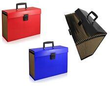 More details for 19 or 13 pocket expanding a4 box file organiser paper documents foolscap folder