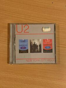 U2 Rare New York City Rock Dec 2000 - Rare collectable live CD