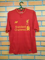 Liverpool Jersey 2016 2017 Home SMALL Shirt Mens Trikot Camiseta New Balance