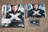 X-Men Official Game (Nintendo Game Boy Advance GBA) Complete in Box CIB