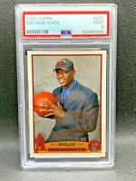 2003-04 Topps Dwyane Wade Rookie PSA 9 Mint RC #225 Miami Heat