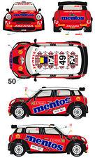 1/43 Decal MIni JCW RRC #49/50 Rally Portugal 2013