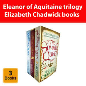 Eleanor of Aquitaine trilogy Collection Elizabeth Chadwick 3 Books set Pack NEW