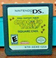 Final Fantasy Chocobo Tales Nintendo DS DS Lite 3DS 2DS Game Tested Authentic