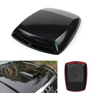 Universal Car Decorative Air Flow Intake Hood Scoop Bonnet Vent Sticker Cover