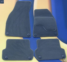 AUDI A4 & S4 2002 - 2008 GREY QUALITY TAILORED CAR MATS 8 ROUND CLIPS
