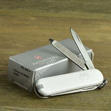 Victorinox Classic SD White Handle Swiss Army Knife Multi-Tool 53007
