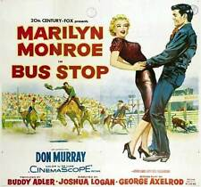 BUS STOP Movie POSTER 30x40 Marilyn Monroe Arthur O'Connell Hope Lange Don