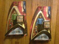 Art Asylum original series wave one Star Trek Captain Kirk green shirt and Spock