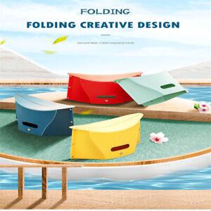Folding stool plastic travel outdoor portable stool thin paper low stool