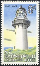 New Zealand 1969 Lighthouse/Maritime Safety/Buildings/Transport 1v (n24258)
