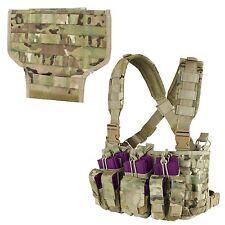 Condor MCR Multicam Tactical Hunting Recon Chest Rig & MOLLE Bib Integration Kit