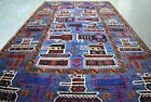Afghan Hand Made Tremendous Hand Knotted Wool Rug ( showing tanks, weapons)