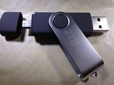 2TB (2000GB) USB 2.0 OTG Flash Thumb Drive Memory Stick