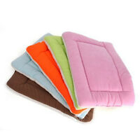 Washable Warm Soft Pet Dog Puppy Cat Kennel Cage Pad Bed Cushion Fleece M Sale