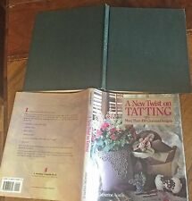 A New Twist On Tatting /catherine austin/over 100 designs/Hcdj/1993 Vg