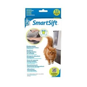 Catit Smartsift Replacement Pan Liners for Base Bin 12-pack