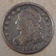 1834 Capped Bust Dime JR-4 Nice Original F