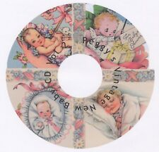 Vintage New Baby Greeting Cards CD Vol 2