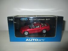 FORD MUSTANG GT 2005 RED ART.52762 AUTOART SCALA 1:43