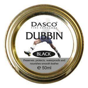 Dasco Wax Shoe Polish Boot Polish Dubbin BLACK