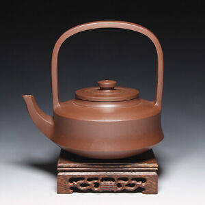"OldZiSha-Famous China Yixing Zisha Old ""TiBi"" Teapot By Master Gu JingZhou,1970'"