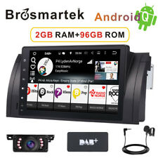 Car DAB+ stereo radio Android 10.0 for BMW 5 Series E39 E53 X5 M5 Sat Nav 4G+RDS