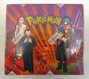 GYM CHALLENGE Pokémon TCG Booster Box NEW & SEALED WotC 2000 Pokemon
