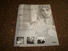 FAREWELL MY CONCUBINE 1993 Oscar ad with Gong Li as Juxian for Best Actress