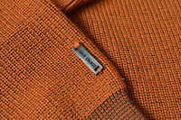Carlo Colucci Pullover merinowolle zopfmuster Strick Kabel mix Gr. 54