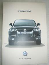 VW Touareg brochure Mar 2007 South African market English text