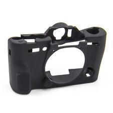 Cover Case Carcasa silicona negro para Fujifilm XT10, XT20