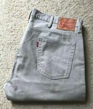 Mens Levis 514 straight leg stone denim jeans W 40 L 29