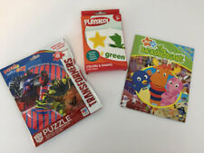 Lot of Mixed Children Toys Puzzle Book Flash Cards New