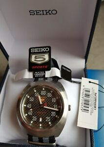 Seltene Limited Edition Seiko 5 Sports Automatik Racer SRPA93K1, Tachooptik, OVP